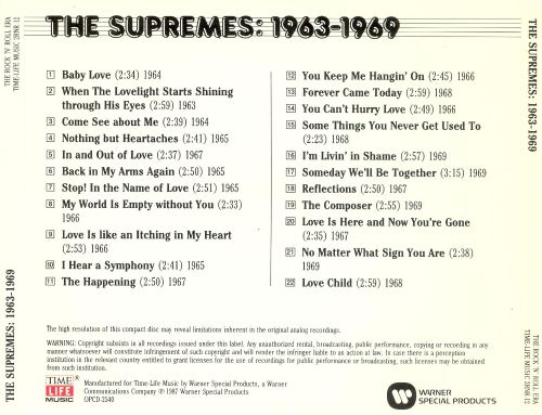 The Rock 'N' Roll Era: The Supremes - 1963-1969