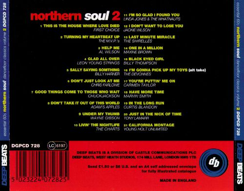 Deep Beats: 60's Northern Soul, Vol. 2