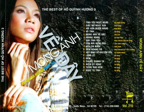 The Best of Ho Quynh Huong, Vol. 3