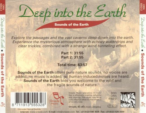Deep into the Earth: Sounds of the Earth