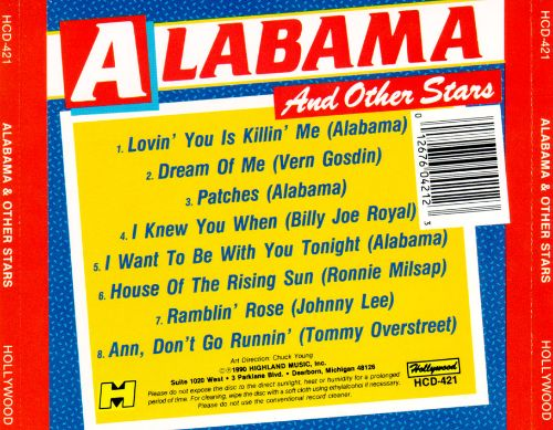 Alabama & Other Stars