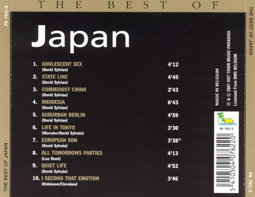 The Best of Japan [Paradiso]