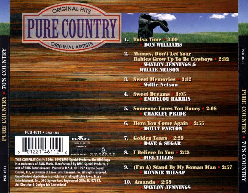 Pure Country: 70's Country