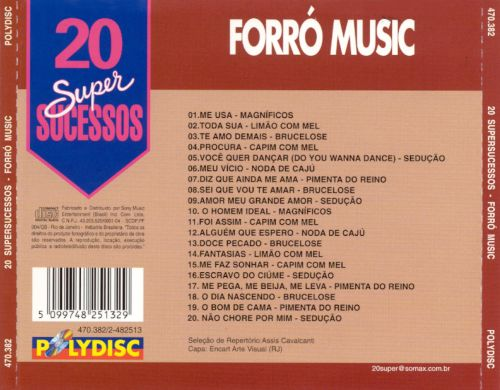 20 Supersucessos: Forró Music