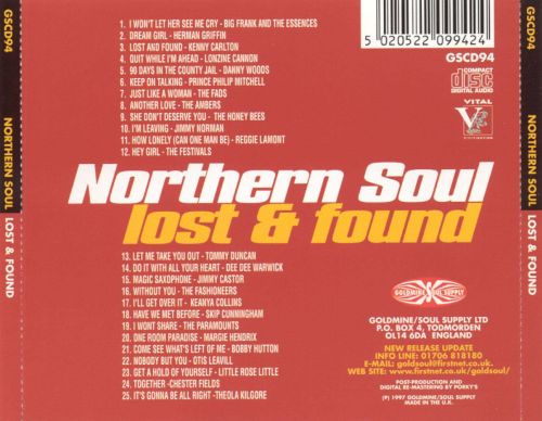 Northern Soul: Lost & Found, Vol. 1