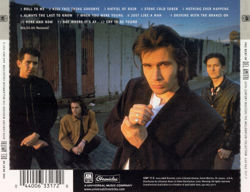 20th Century Masters: The Millennium Collection: Best of Del Amitri