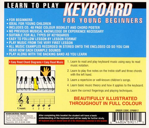 Learn to Play Keyboard for Young Beginners