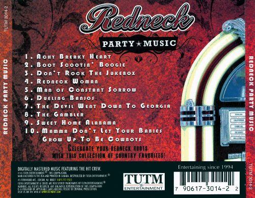 Redneck Party Music - Various Artists  Songs, Reviews -4365