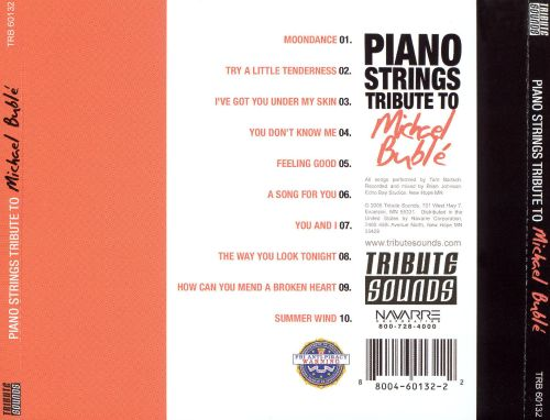 Piano Strings Tribute to Michael Buble