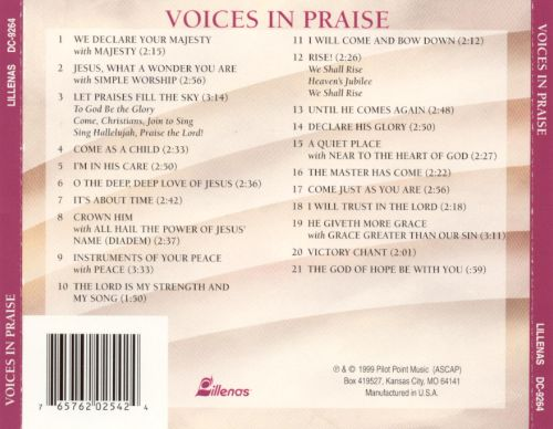 Voices in Praise: A Cappella Moments of Worship
