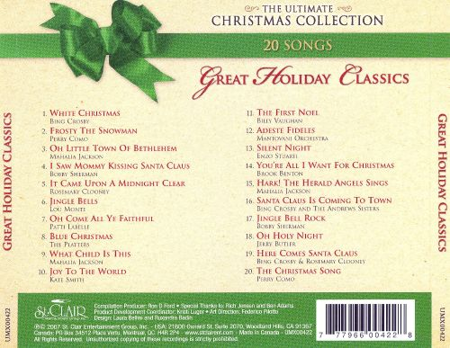 Great Holiday Classics [St. Clair]
