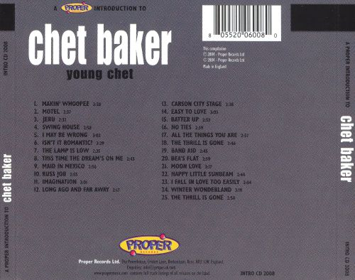 A Proper Introduction to Chet Baker: Young Chet