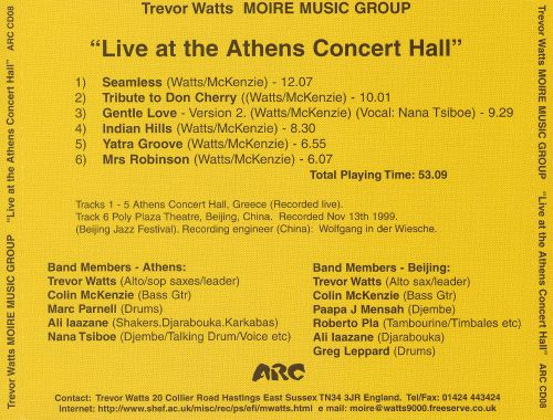 Live at the Athens Concert Hall