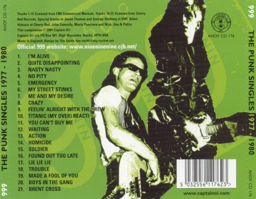 The Punk Singles Collection: 1977-1980