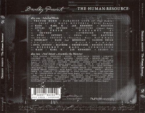 Dieselboy Presents: The Human Resource - Disc 1: Selected Works