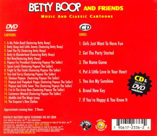 DJ Betty Boop and More Classic Cartoons