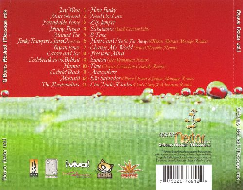 Agave Nectar Mix Compilation, Vol. 1