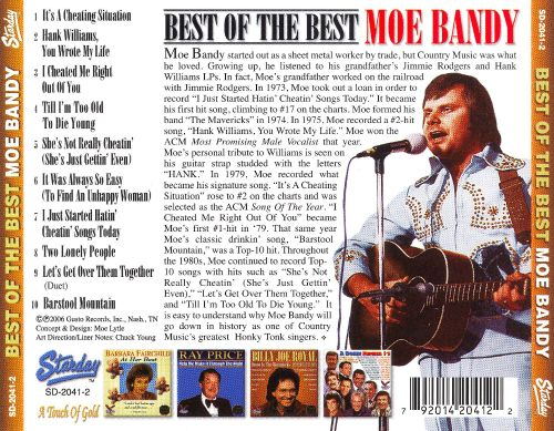 Best of the Best - Moe Bandy | Songs, Reviews, Credits | AllMusic