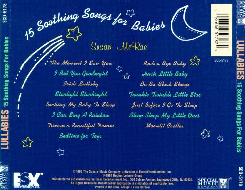 15 Soothing Songs for Babies