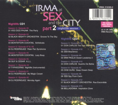 Irma at Sex and the City, Pt. 2: Nightlife Session