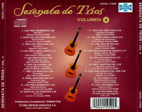 Serenata de Trios, Vol. 4