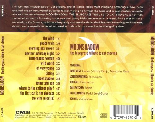 Moonshadow: The Bluegrass Tribute to Cat Stevens