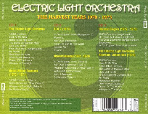 The Harvest Years 1970-1973