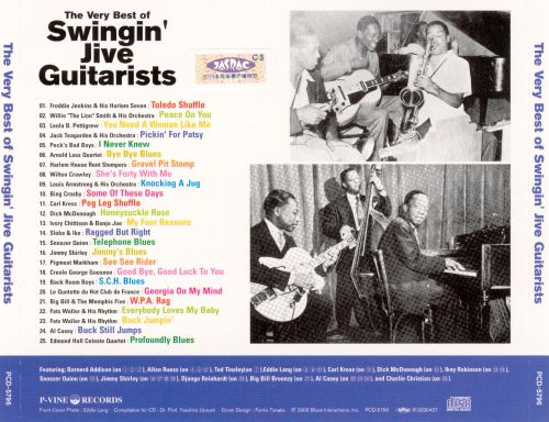 The Very Best of Swingin' Jive Guitarists
