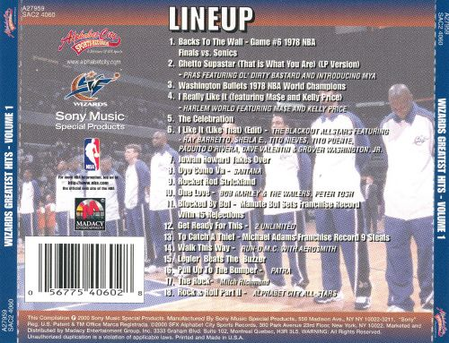 Washington Wizards: Greatest Hits, Vol. 1