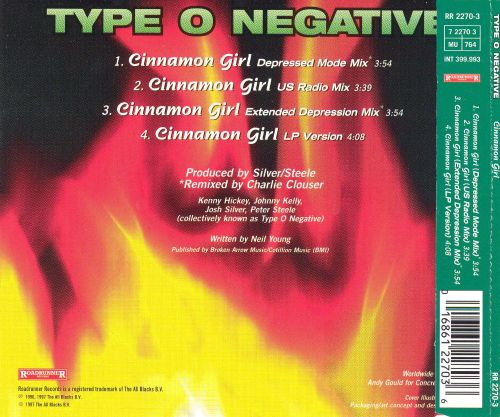 Cinnamon Girl [4 Tracks]
