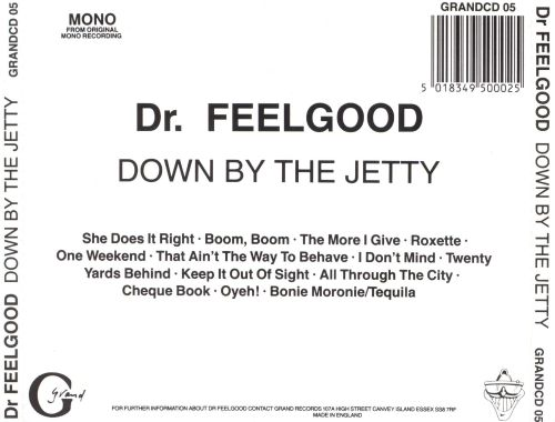 Image result for dr feelgood down by the jetty