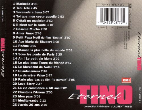 Eternal Tino: The Best of Tino Rossi [EMI]