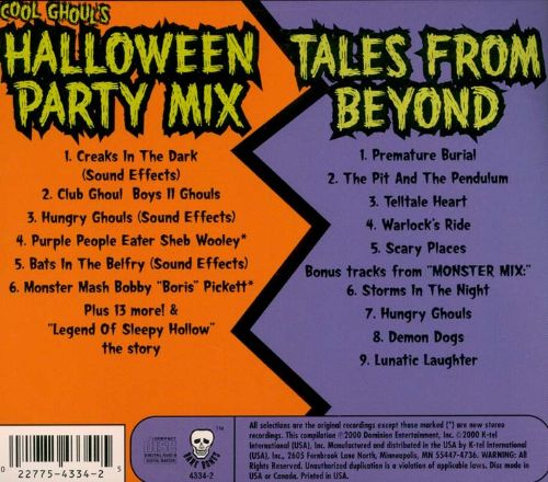 Cool Ghoul's Halloween Party Mix