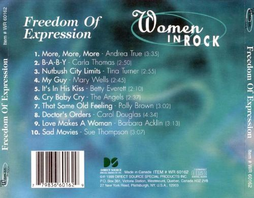 Women in Rock: Freedom of Expression