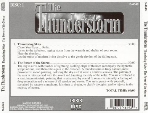The Thunderstorm 1