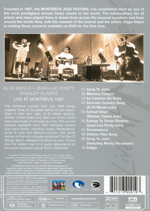 Live at Montreux 1994 [DVD]