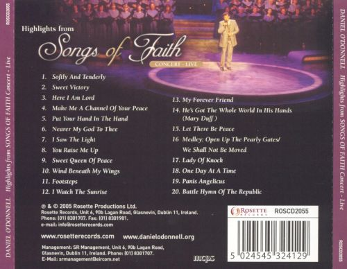 Highlights from Songs of Faith Concert: Live