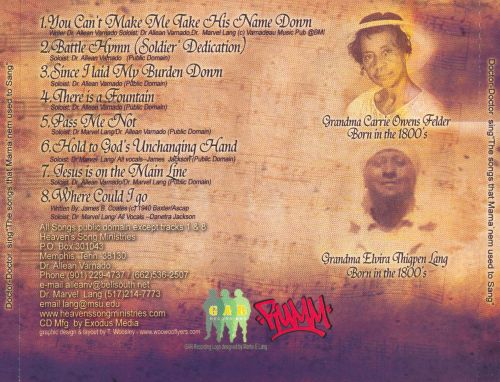 The Songs That Mama'nem Used to Sang