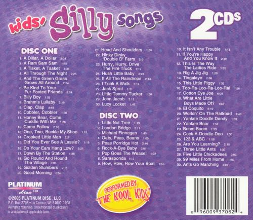Kid's Silly Songs, Vol. 1-2
