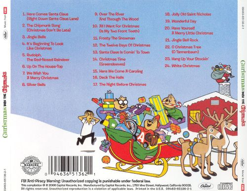 Christmas with the Chipmunks - The Chipmunks   Songs, Reviews ...