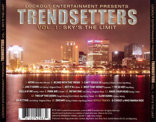 Trendsetters, Vol. 1: Sky's the Limit
