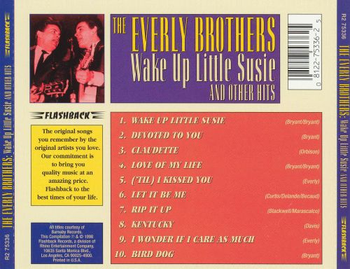 Wake Up Little Susie and Other Hits