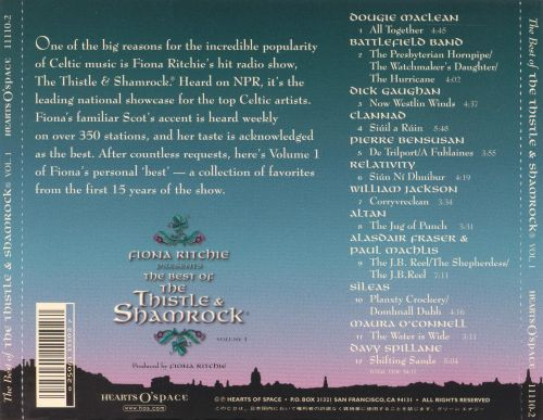 The Best of the Thistle & Shamrock, Vol. 1