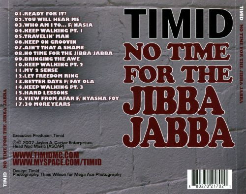 No Time for the Jibba Jabba
