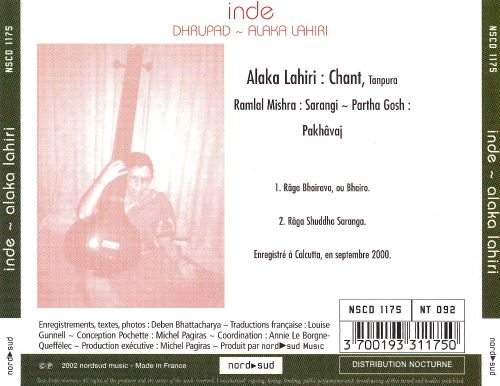 India: Dhrupad - Vocal Art of Hindustan