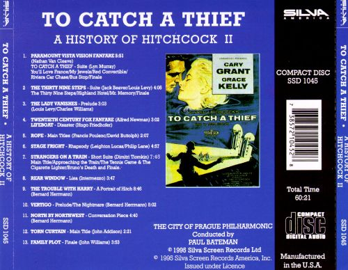 A History of Hitchcock, Vol. 2: To Catch a Thief