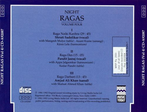 Night Ragas, Vol. 4
