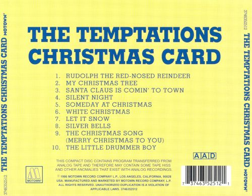 Christmas Card - The Temptations | Songs, Reviews, Credits | AllMusic