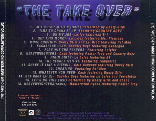 The Take Over: Mastermind Compilation, Vol. 2