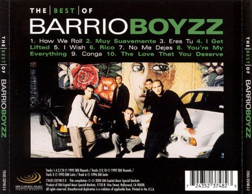 The Best of the Barrio Boyzz
